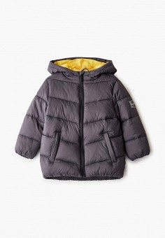 Куртка утепленная, Sela, цвет: серый. Артикул: SE001EBIGMI3. Мальчикам / Одежда / Верхняя одежда / Куртки и пуховики