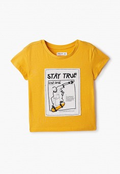 Футболка, Sela, цвет: желтый. Артикул: SE001EBIGMJ4. Мальчикам / Одежда