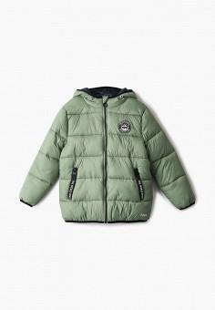 Куртка утепленная, Sela, цвет: зеленый. Артикул: SE001EBIGNC3. Мальчикам / Одежда / Верхняя одежда / Куртки и пуховики