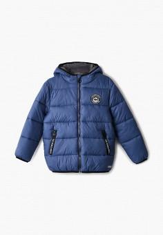 Куртка утепленная, Sela, цвет: черный. Артикул: SE001EBIGNC4. Мальчикам / Одежда / Верхняя одежда / Куртки и пуховики