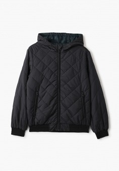 Куртка утепленная, Sela, цвет: черный. Артикул: SE001EBIWEM8. Мальчикам / Одежда / Верхняя одежда