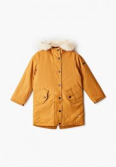 Куртка утепленная, Sela, цвет: желтый. Артикул: SE001EGGYKA3. Девочкам / Одежда / Верхняя одежда / Куртки и пуховики