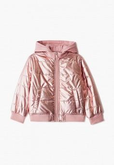 Куртка утепленная, Sela, цвет: розовый. Артикул: SE001EGIGMF2. Девочкам / Одежда / Верхняя одежда / Куртки и пуховики