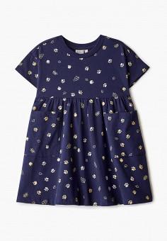 Платье, Sela, цвет: синий. Артикул: SE001EGIWEP2. Девочкам / Одежда / Платья и сарафаны