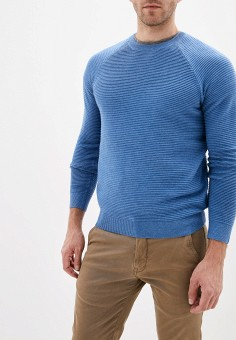 Джемпер, Sela, цвет: голубой. Артикул: SE001EMGAJD9. Одежда / Джемперы, свитеры и кардиганы / Джемперы и пуловеры