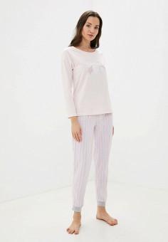 Пижама, Sela, цвет: розовый. Артикул: SE001EWGALN1.
