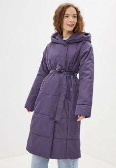Куртка утепленная, Sela, цвет: фиолетовый. Артикул: SE001EWGALX6. Одежда / Верхняя одежда / Демисезонные куртки