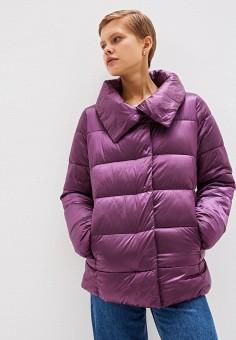Куртка утепленная, Sela, цвет: фиолетовый. Артикул: SE001EWGALY3. Одежда / Верхняя одежда / Демисезонные куртки