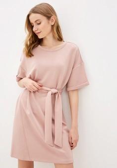 Платье, Sela, цвет: розовый. Артикул: SE001EWHXHK9.