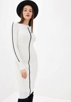 Платье, Sela, цвет: белый. Артикул: SE001EWHXHO5.