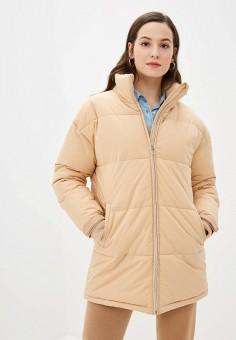 Куртка утепленная, Sela, цвет: бежевый. Артикул: SE001EWHXHP0.