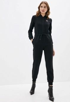 Комбинезон, Sela, цвет: черный. Артикул: SE001EWHXHT1. Одежда / Комбинезоны