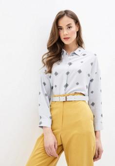 Блуза, Sela, цвет: серый. Артикул: SE001EWIWNC6. Одежда / Блузы и рубашки