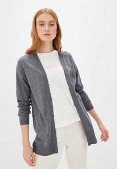 Кардиган, Sela, цвет: серый. Артикул: SE001EWIWNH0.