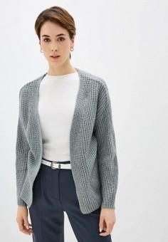 Кардиган, Sela, цвет: серый. Артикул: SE001EWIWNH7. Одежда / Джемперы, свитеры и кардиганы / Кардиганы