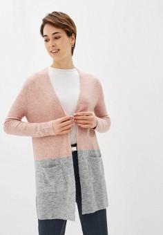 Кардиган, Sela, цвет: розовый. Артикул: SE001EWIWNI1.