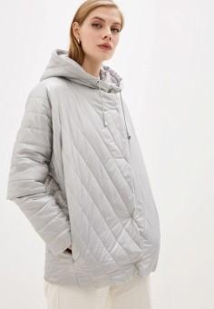 Куртка утепленная, Sela, цвет: серый. Артикул: SE001EWIWNI6. Одежда / Верхняя одежда / Демисезонные куртки