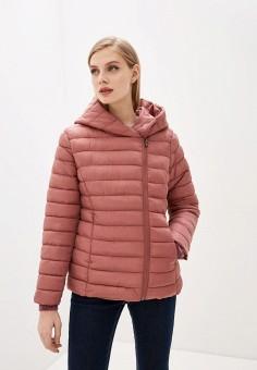 Куртка утепленная, Sela, цвет: розовый. Артикул: SE001EWIWNI9.