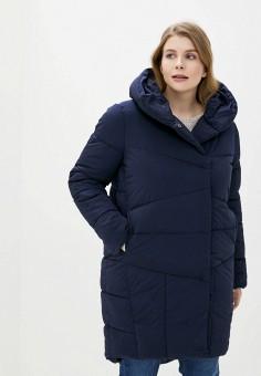 Куртка утепленная, Sela, цвет: синий. Артикул: SE001EWIWNJ0. Одежда / Верхняя одежда / Демисезонные куртки
