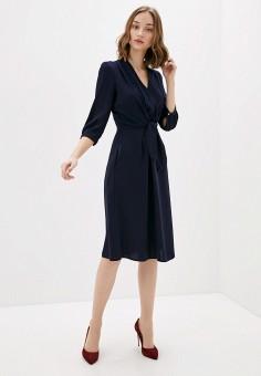 Платье, Sela, цвет: синий. Артикул: SE001EWIWNJ3.