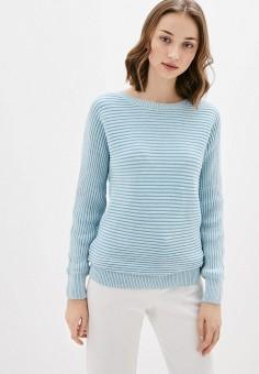 Джемпер, Sela, цвет: голубой. Артикул: SE001EWIWNP8. Одежда / Джемперы, свитеры и кардиганы / Джемперы и пуловеры / Джемперы
