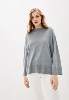 Джемпер, Sela, цвет: серый. Артикул: SE001EWIWNR7. Одежда / Джемперы, свитеры и кардиганы / Джемперы и пуловеры / Джемперы