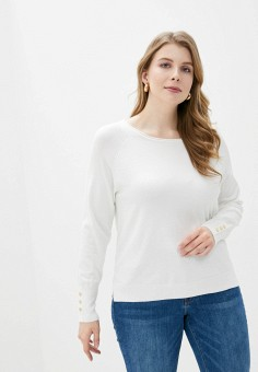 Джемпер, Sela, цвет: белый. Артикул: SE001EWIWNR8. Одежда / Джемперы, свитеры и кардиганы / Джемперы и пуловеры / Джемперы