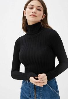 Водолазка, Sela, цвет: черный. Артикул: SE001EWIWNU2. Одежда / Джемперы, свитеры и кардиганы / Водолазки