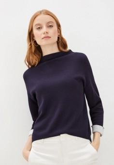 Джемпер, Sela, цвет: синий. Артикул: SE001EWIWNV2. Одежда / Джемперы, свитеры и кардиганы / Джемперы и пуловеры / Джемперы