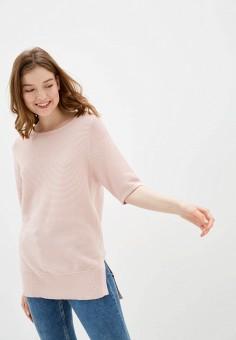 Джемпер, Sela, цвет: розовый. Артикул: SE001EWIWOJ2. Одежда / Джемперы, свитеры и кардиганы / Джемперы и пуловеры / Джемперы