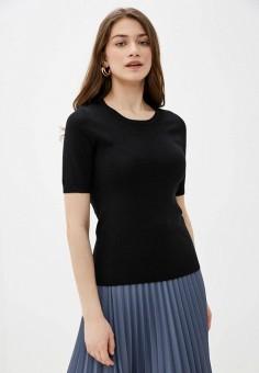 Джемпер, Sela, цвет: черный. Артикул: SE001EWIWOJ4. Одежда / Джемперы, свитеры и кардиганы / Джемперы и пуловеры