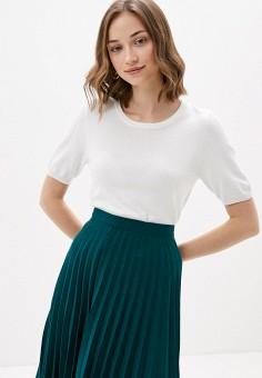 Джемпер, Sela, цвет: белый. Артикул: SE001EWIWOJ5. Одежда / Джемперы, свитеры и кардиганы / Джемперы и пуловеры / Джемперы