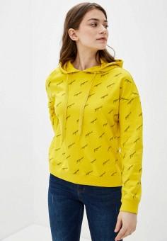 Худи, Sela, цвет: желтый. Артикул: SE001EWIWOU0.