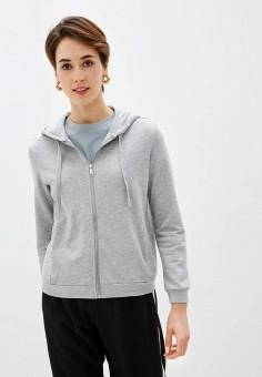 Толстовка, Sela, цвет: серый. Артикул: SE001EWIWOU2. Одежда