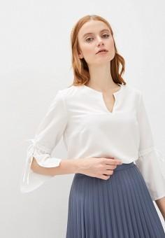 Блуза, Sela, цвет: белый. Артикул: SE001EWIWPK6.
