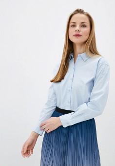 Рубашка, Sela, цвет: голубой. Артикул: SE001EWJCYC0. Одежда / Блузы и рубашки / Рубашки
