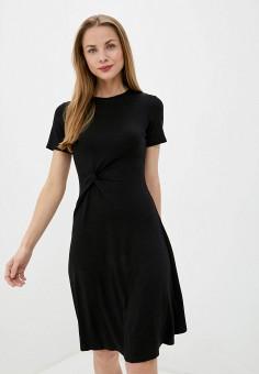 Платье, Sela, цвет: черный. Артикул: SE001EWJCYC3.