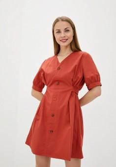 Платье, Sela, цвет: красный. Артикул: SE001EWJCYC4.