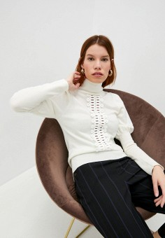 Водолазка, See by Chloe, цвет: белый. Артикул: SE011EWJZKB1. Одежда / Джемперы, свитеры и кардиганы / Водолазки