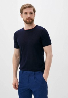 Джемпер, Seventy, цвет: синий. Артикул: SE049EMHZEY9. Одежда / Джемперы, свитеры и кардиганы / Джемперы и пуловеры