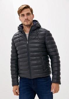 Куртка утепленная, Serge Pariente, цвет: синий. Артикул: SE050EMJVMI2. Одежда / Верхняя одежда / Демисезонные куртки