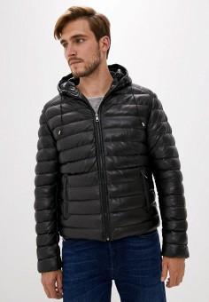 Куртка утепленная, Serge Pariente, цвет: черный. Артикул: SE050EMJVMI3. Одежда / Верхняя одежда / Демисезонные куртки