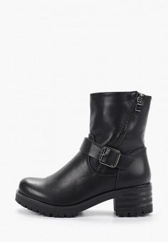 Полусапоги, Second Lady, цвет: черный. Артикул: SE052AWHCVW6. Обувь / Сапоги