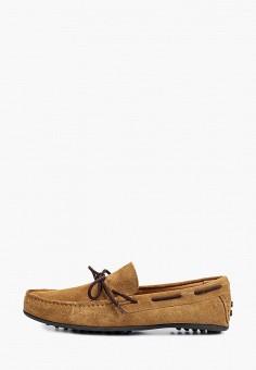 Мокасины, Selected Homme, цвет: коричневый. Артикул: SE392AMHUBU8. Обувь / Мокасины и топсайдеры