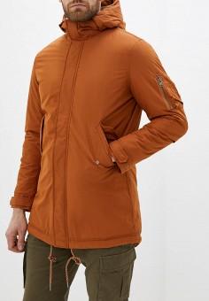 Парка, Selected Homme, цвет: оранжевый. Артикул: SE392EMFKVD8. Одежда / Верхняя одежда / Парки