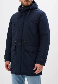 Парка, Selected Homme, цвет: синий. Артикул: SE392EMFKVW5. Одежда / Верхняя одежда / Парки