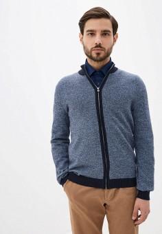 Кардиган, Selected Homme, цвет: синий. Артикул: SE392EMHTWD0. Одежда / Джемперы, свитеры и кардиганы / Кардиганы