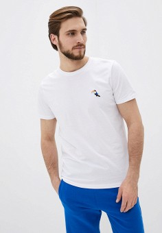 Футболка, Selected Homme, цвет: белый. Артикул: SE392EMHTWJ5. Одежда / Футболки и поло