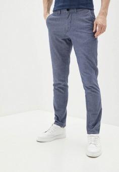 Брюки, Selected Homme, цвет: голубой. Артикул: SE392EMJBCK2. Одежда / Брюки / Повседневные брюки