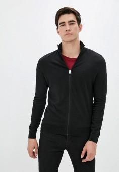 Кардиган, Selected Homme, цвет: черный. Артикул: SE392EMJPBV2. Одежда / Джемперы, свитеры и кардиганы / Кардиганы